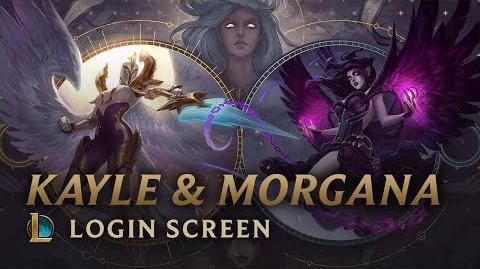 Kayle & Morgana, the Righteous & the Fallen - Login Screen