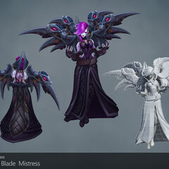 Blade Mistress Morgana Update Model 1 (by Riot Artists <a href=