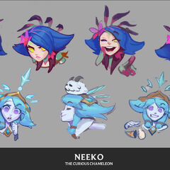 Neeko Emote Concepts 2 (by Riot Artist <a href=