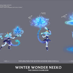 Winter Wonder Neeko Concept 4 (by Riot Artist <a href=