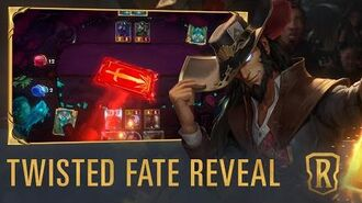 Twisted Fate Reveal New Champion - Legends of Runeterra