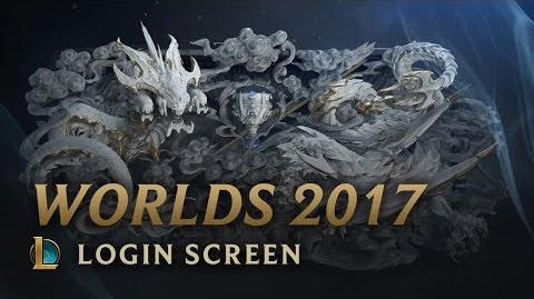 World Championship 2017 Login Screen - League of Legends