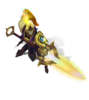 Xin Zhao CosmicDefender (Citrine)