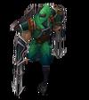 Zed Schockklingen-Zed (Smaragd) M