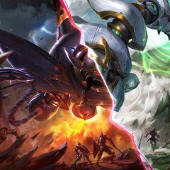 Lancer Rogue and Lancer Paragon Blitzcrank Splash Concept 2 (by Riot Artist <a href=