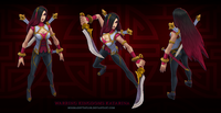 Katarina WarringKingdoms Model 01