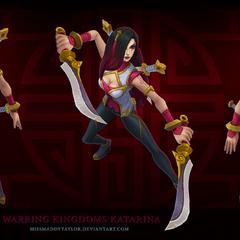 Warring Kingdoms Katarina Model 1 (by Riot Artist <a href=