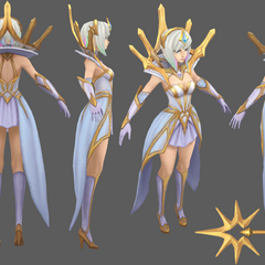Elementalist Lux Model 10 (by Riot Artist <a href=