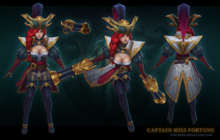 Miss Fortune Käpt'n model 1