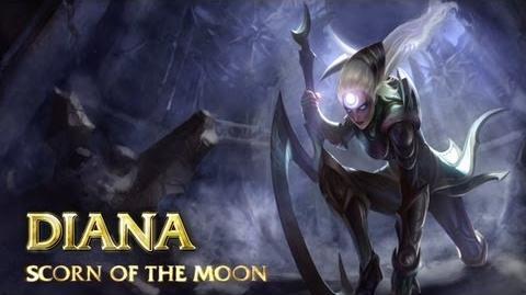 Prezentacja Bohatera - Diana, Pogarda Księżyca