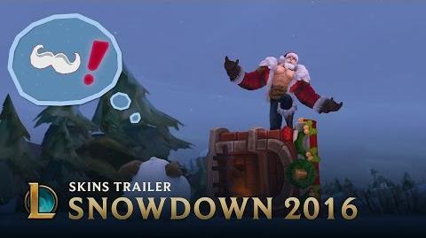 A Snowdown Snowtale Snowdown 2016 Skins Trailer - League of Legends