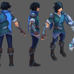 SSG Ezreal Update Model (by Riot Artist <a href=