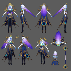 Cosmic Lux Model (by Riot Artist <a href=