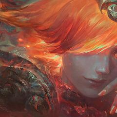 Elementalist Lux Fire Promo (by Riot Artist <a href=