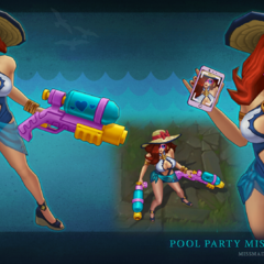 Pool Party Miss Fortune Model (by Riot Artist <a href=