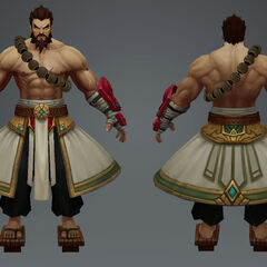 Spirit Guard Udyr Model 1 (by Riot Artist <a href=