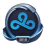Worlds 2018 Cloud9 Emote