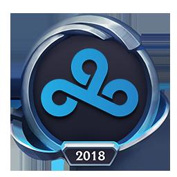 Worlds 2018 Cloud9 Emote