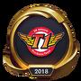 Worlds 2018 SK Telecom T1 (Gold) Emote