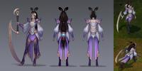 Diana LunarGoddess Concept 01