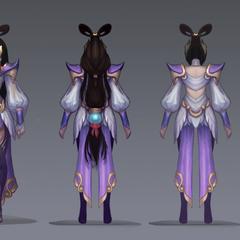 Lunar Goddess Diana Concept (by Riot Artist <a href=