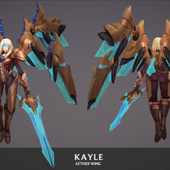 Aether Wing Kayle Update Model 3 (by Riot Artist <a href=