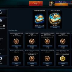 Runes store page <small>(Patch <a href=