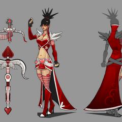 Heartseeker Vayne Concept (by Riot Artist <a href=