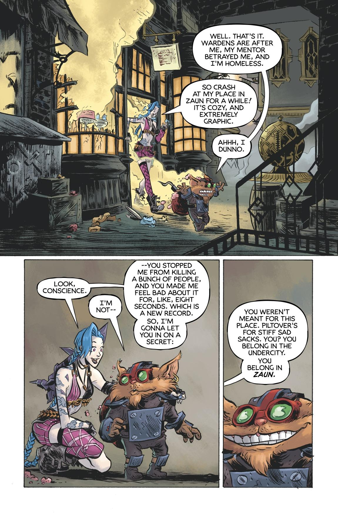 Ziggs and Jinx - Paint the Town 22