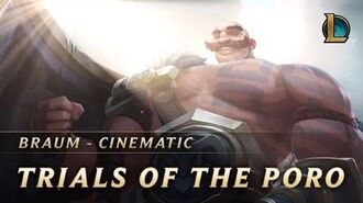 Braum Trials of the Poro New Champion Teaser - League of Legends