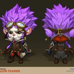 Dragon Trainer Heimerdinger Concept 3 (by Riot Artist <a href=