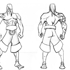 Traditional Lee Sin Concept 1 (by Riot Artist <a href=