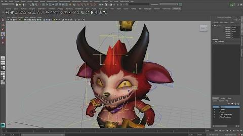 Little Devil Teemo - Facial Rig