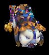 Sejuani Firecracker (Sapphire)
