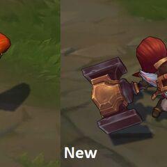 Stary i nowy model Poppy Kowala
