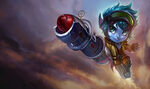 Tristana RocketGirlSkin Unused