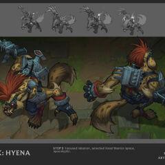 Hyena Warwick Update Concept (by Riot Artist <a href=