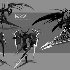 Aatrox Concept 1 (by Riot Artist <a href=