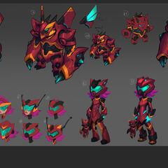 Super Galaxy Annie Concept 2 (by Riot Artist <a rel=