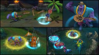 Dr. Mundo PoolParty Screenshots