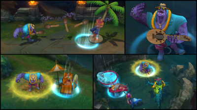 Dr. Mundo PoolParty Screenshots