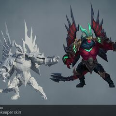 Gatekeeper Galio Update Model (by Riot Artists <a href=