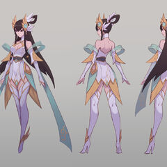 Divine Sword Irelia Concept 4 (by Riot Artist <a href=