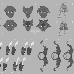 Kindred Lamb Feature Exploration (by Riot Artist <a href=