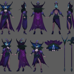 Ravenborn LeBlanc Model 3 (by Riot Artist <a href=