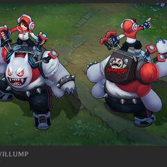 TPA Nunu & Willump Update Concept 1 (by Riot Artist <a href=