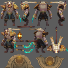 Guardian of the Sands Rengar Model