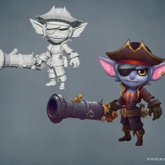 Buccaneer Tristana Update Model (by Riot Artists <a href=