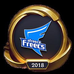 Mistrzostwa 2018 – Złote AFS