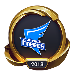 Worlds 2018 Afreeca Freecs (Gold) Emote